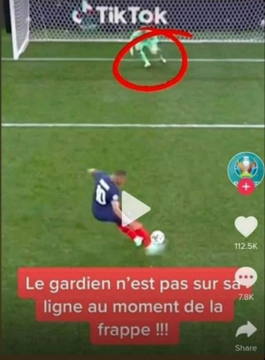 De rejouez le match France Suisse dans les règles